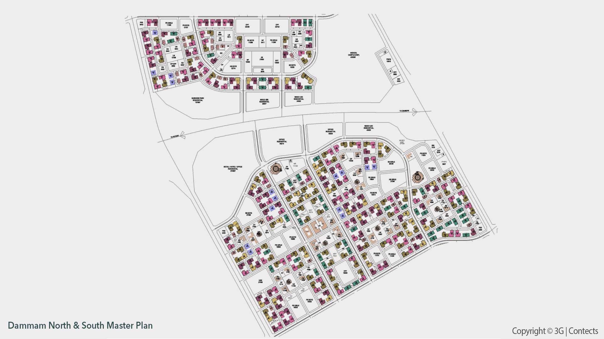 Dammam SAPL Residential and Infrastructure Project