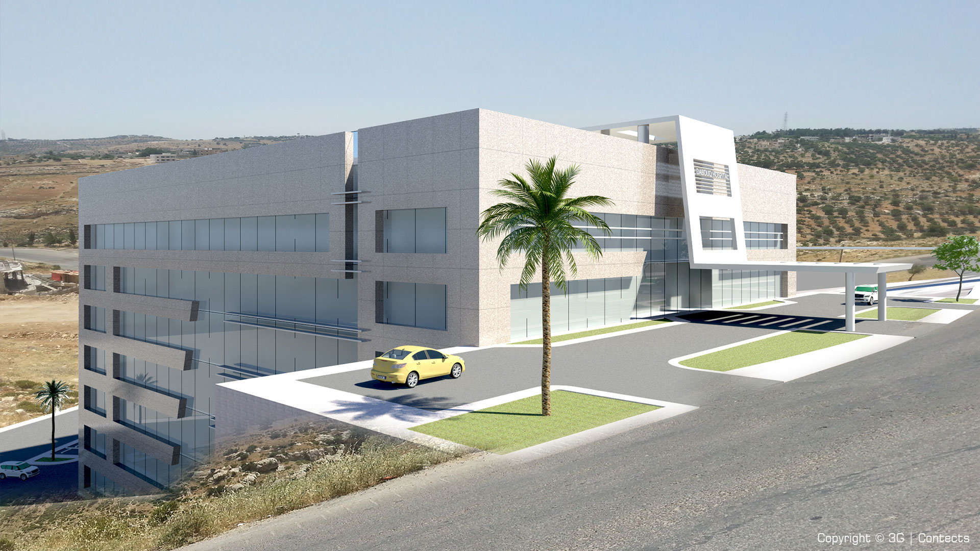 Zayed Military Hospital (Al-Ain) Expansion