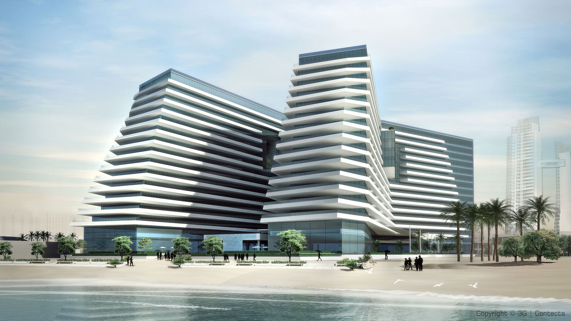Khalidiya Water Front Development