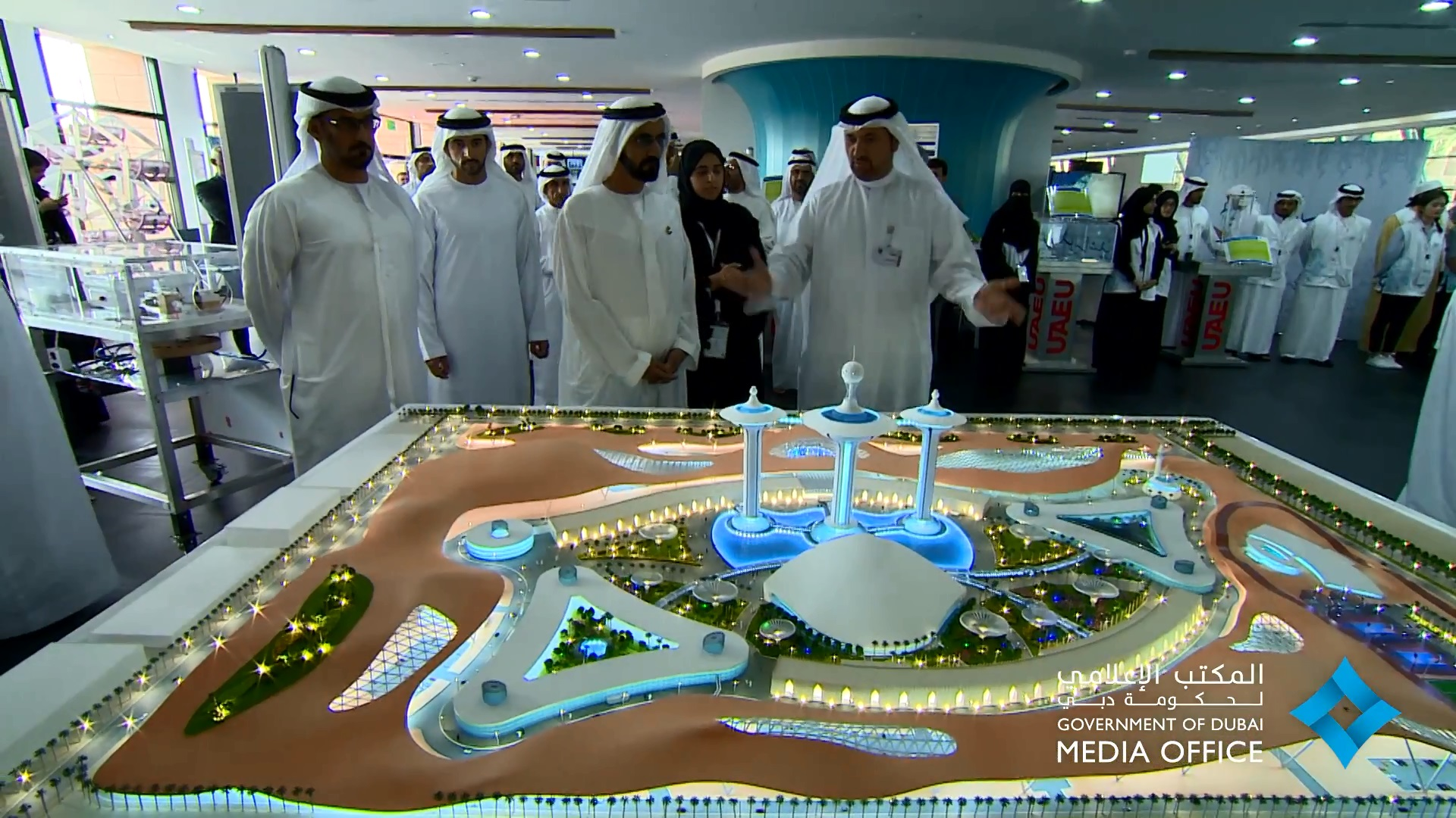 3G's UAEU Design of the Science and Innovation Research Center