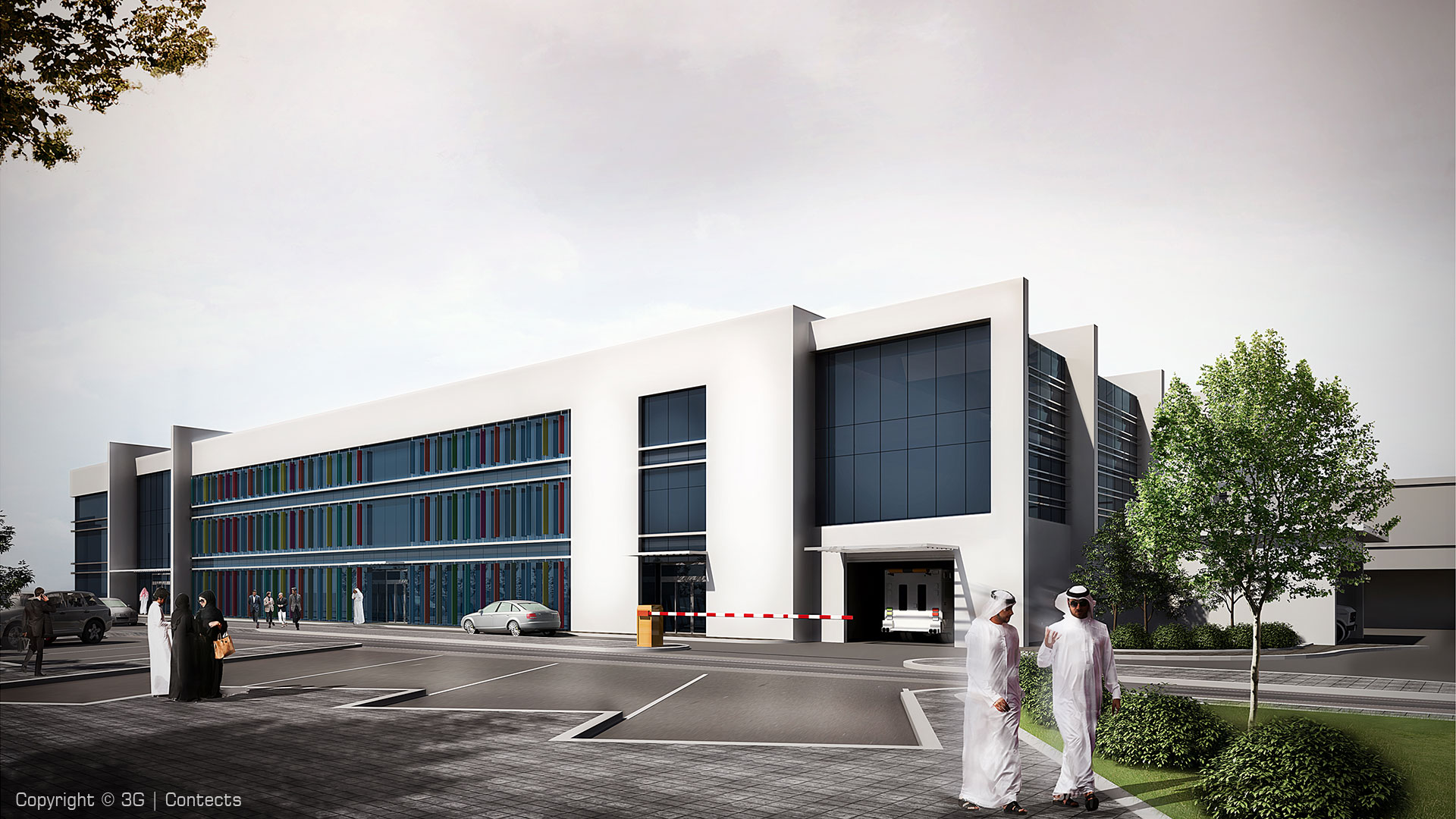 Zayed Military Hospital (Abu Dhabi) Expansion